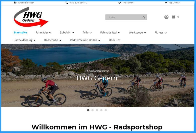 hwg-radsportshop HWG Gedern Startseite